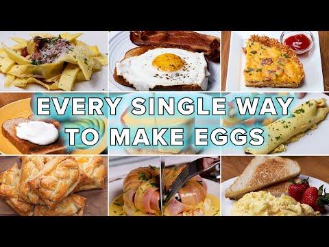 Every Single Way To Make Eggs • Tasty Recipes