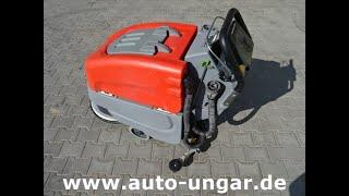 Youtube-Video Hako B45 Scheuersaugmaschine Baujahr 2011 574 Stunden