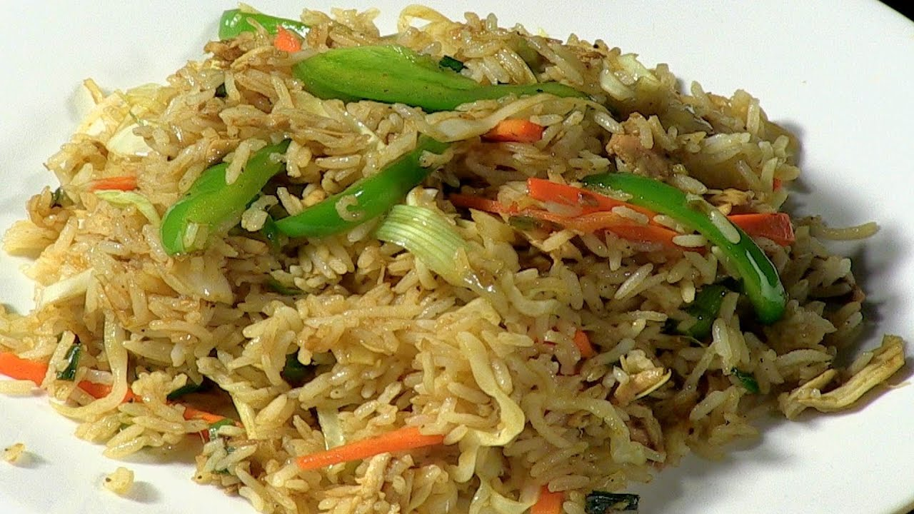 Archanas chinese special chicken fried rice youtube forumfinder Images
