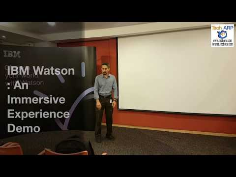 IBM Watson : An Immersive Experience Demo