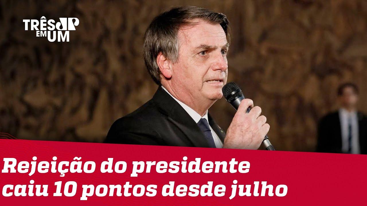 DataFolha: Aprovação de Bolsonaro chega a 37%