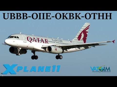 X-Plane 11 | Another NEW Airbus!?!  | LBWN-LCLK-HECA-LLBG | A319 FFA320 | VATSIM | World Tour Ep.5