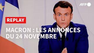 REPLAY - Macron : le détail du plan de déconfinement
