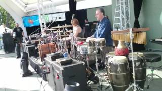 I Mother Earth ft. Edwin - Soundcheck at Peterborough Musicfest - July 2, 2016