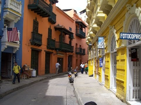 Cartagena - Amazing Old Town / Nick in Colombia' 2008