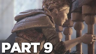 A PLAGUE TALE INNOCENCE Walkthrough Gameplay Part 9 - ALCHEMIST (PS4 Pro)