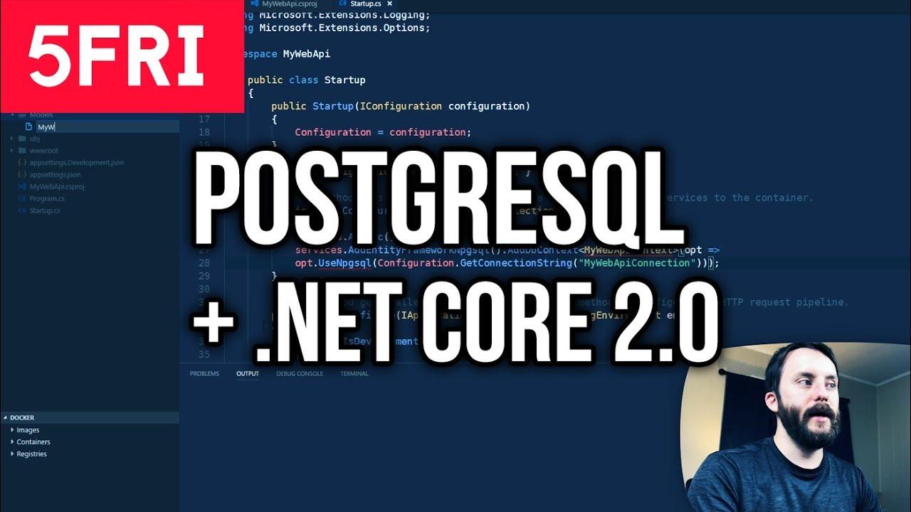 Setup PostgreSQL with Docker for Your C# Database - Glen