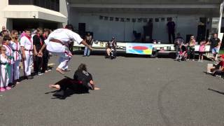 Clifton Martial Arts Academy - Demo Team - 9/20/2015 - The Atrium, Clifton, NJ