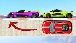Опасные гонки трансформеры по самым сложным волрайдам в GTA 5 Online