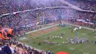CHICAGO BEARS INTRODUCTION FROM 2006 NFC CHAMPIONSHIP GAME