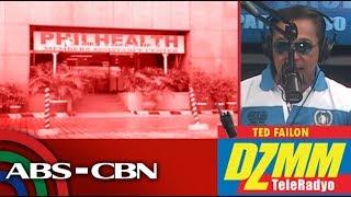 DZMM TeleRadyo: PhilHealth chief blames regional offices for 'debt' to hospitals
