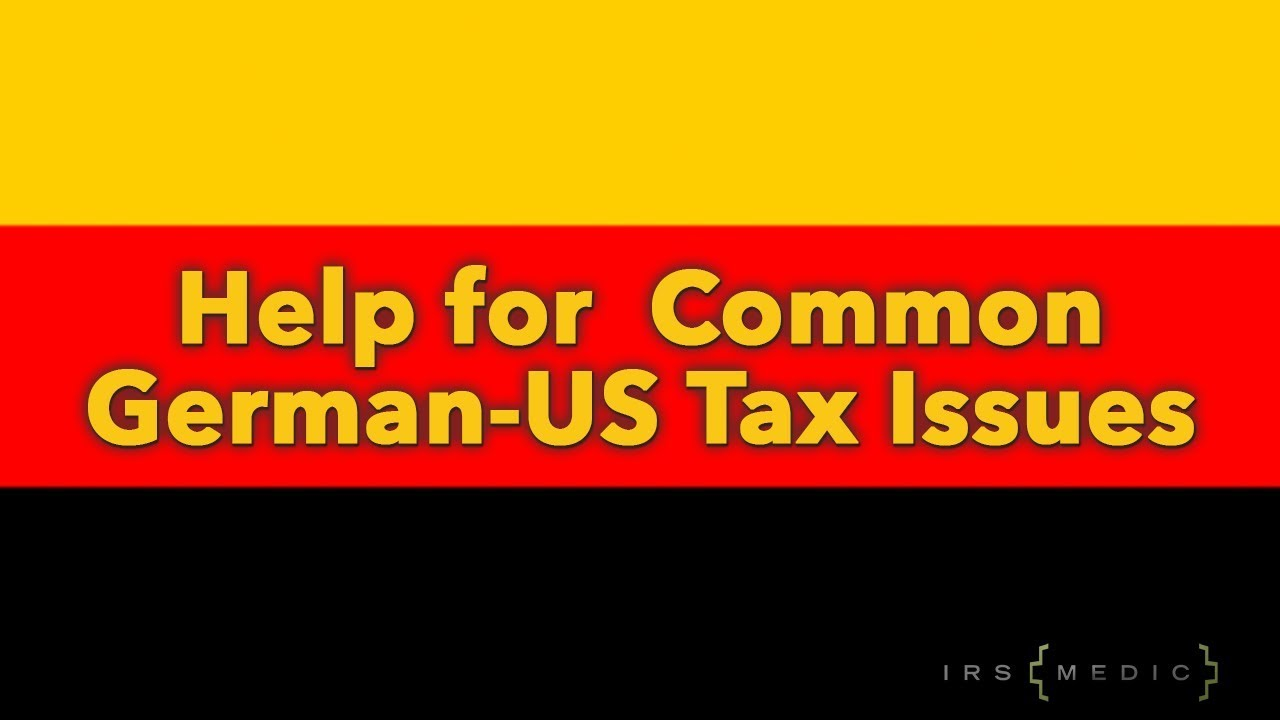 US tax preparation for US expats in Germany and around the world