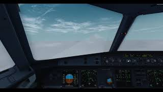 Manchester to Heathrow in A320