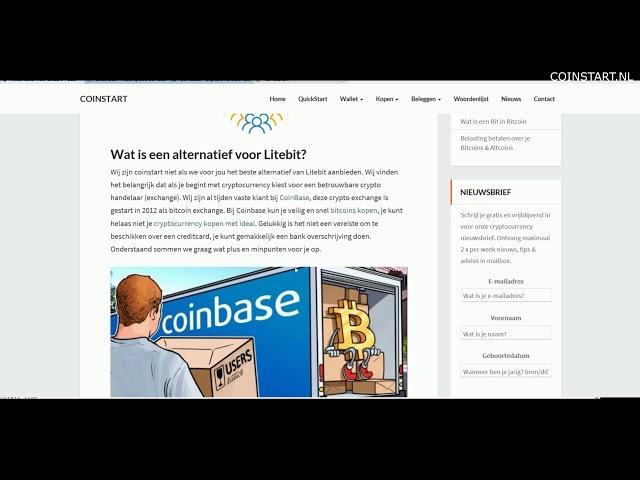 Alternatief voor litebit & gratis bitcoins ontvangen