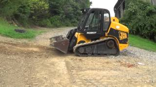 2007 JCB ROBOT 190T TRACK SKID STEER WITH CAB...LOW HOURS!!