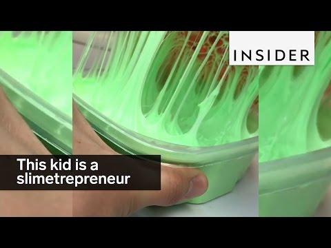 This 14-year-old kid is a slimetrepreneur
