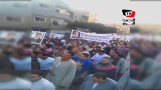 مواطنون بالمنوفية يتظاهرون للقصاص لضحية  قرية «شما»