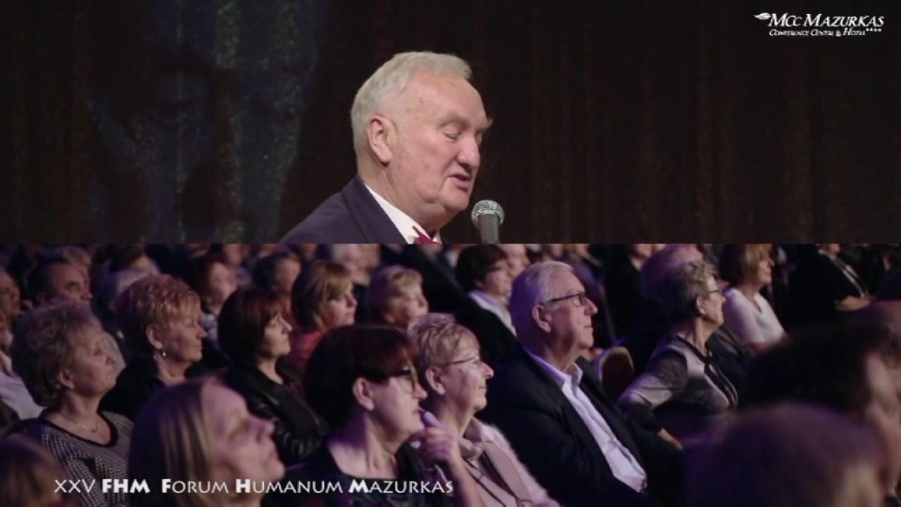XXV FHMazurkas - Andrzej Płonczyński - słowo do Jubilata Zdzisława Słowińskiego