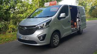 2016 VAUXHALL VIVARO VAN, 3 SEATER , 6 SPEED MANUAL , SAT NAV , FINANCE AVAILABLE, RAC DEALER .