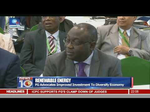 Renewable Energy: FG Advocates Improved Investment To Diversify Economy