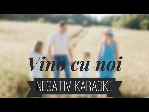 Sofia, Ayan, Alin si Emima Timofte - Vino cu noi [Negativ Karaoke]