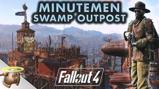MURKWATER CONSTRUCTION - Realistic Fallout 4 settlement tour on a Lenovo Legion Y720 Cube