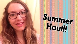 Summer Beauty & Fashion Haul! Thumbnail