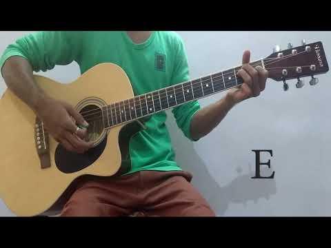 Gazab Ka Hai Din Guitar chords strumming pattern from Dil Junglee