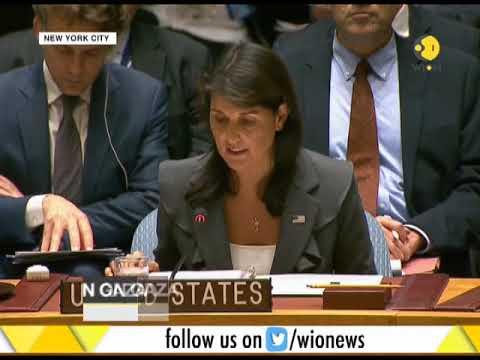 U.S. Vetoes U.N. Resolution on Gaza