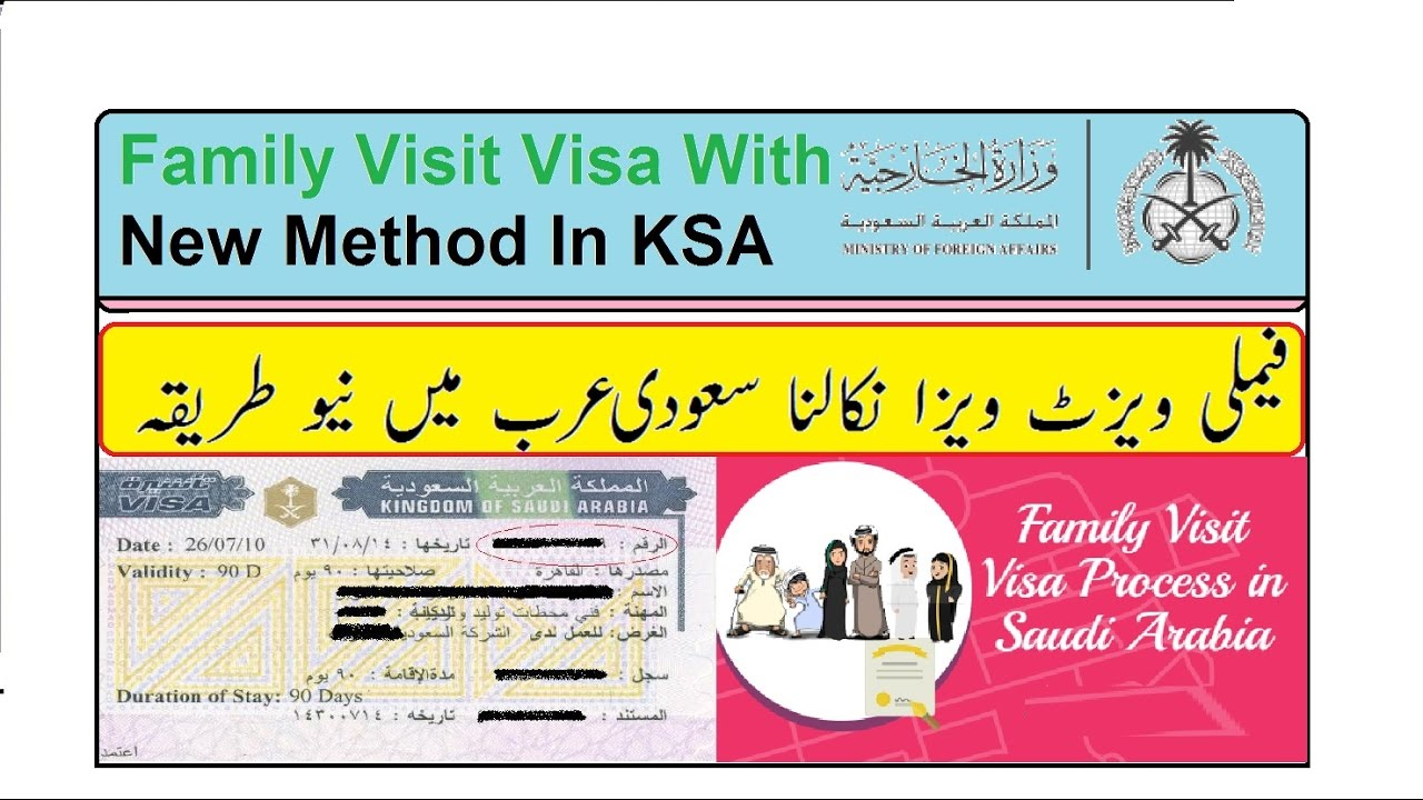 Apply Family Visit Visa In Saudi Arabia In New Method