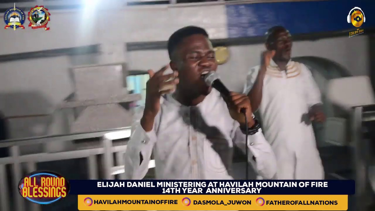Download ELIJAH DANIEL MINISTERING LIVE AT HAVILAH MOUNTAIN OF FIRE WITH DADDY & MUMMY OLUBORI