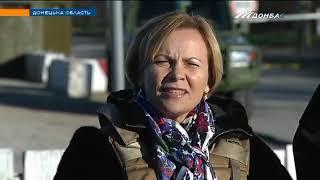 """Парубий и президент ПА НАТО посетили КПВВ """"Гнутово"""""""