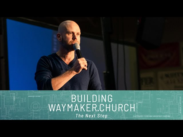 Building Waymaker.Church: The Next Step: Commitment Sunday | Pastor Jon Dupin