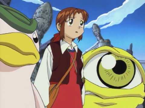 Monster Rancher Ep#40-The Secret of Holly's Magic Stone