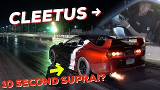 CLEETUS OWES ME A 10 SECOND SUPRA! - he broke it.