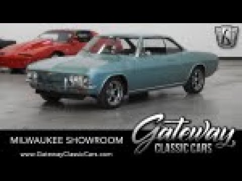 1965 Chevrolet Corvair, Gateway Classic Cars-Milwaukee #823