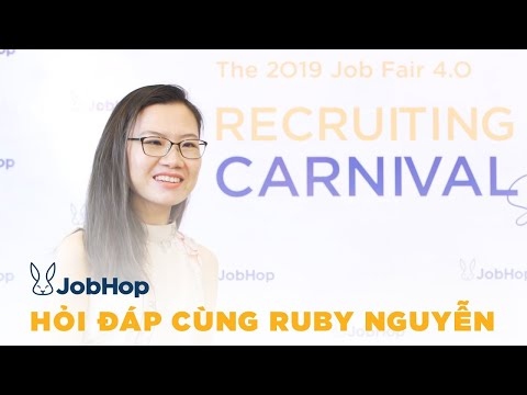 JobHop - JobFair 4.0 - Ms Ruby Nguyen Interview