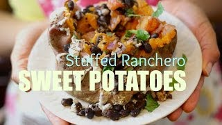 Stuffed Ranchero Sweet Potato Recipe