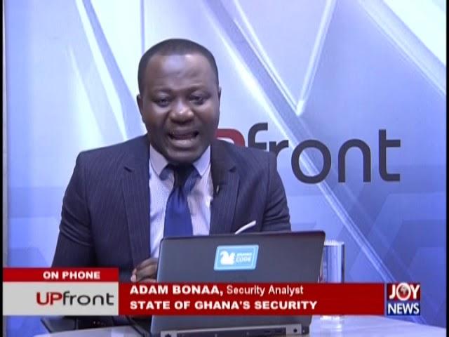 State Of Ghana's Security - UPfront on JoyNews (23-1-19)