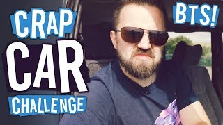 One of Turps's most viewed videos: Behind The Scenes | The Crap Car Challenge