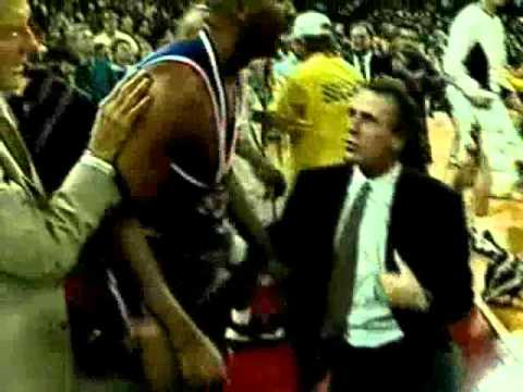 1994 NBA Playoffs New York Knicks - Chicago Bulls Brawl
