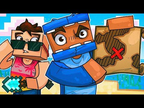 3 Idiots Go On A Minecraft Treasure Hunt Adventure!