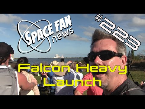 #FalconHeavy Launch; Planets from another galaxy?; #JWST Goes to California | SFN 223