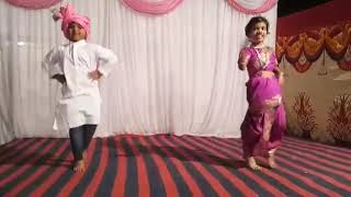 Best kids dance ........Tujhya rupacha chandana padla based on Indian culture 💝
