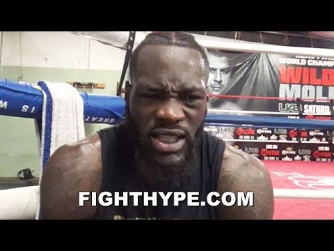 DEONTAY WILDER SENDS TYSON FURY A CHILLING PREMONITION; KNOWS HOW KO WILL AFFECT HIS BODY