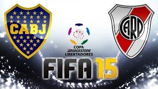 Boca Juniors VS. River Plate (14/05/2015) Libertadores 2015 - FIFA 15