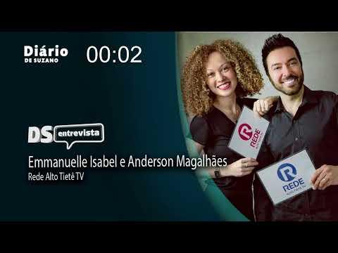 DS entrevista Emmanuelle Isabel e Anderson Magalhães da Rede Alto Tietê TV
