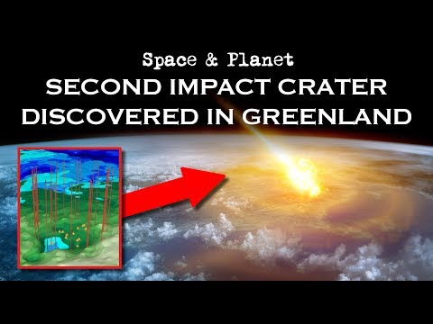 NASA Discovers Second Impact Crater Under Greenland Ice Sheet | Space and Planet