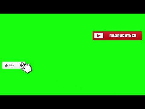 Анимация подписки и лайка
