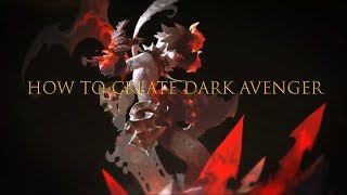 Wie Dunkle Rächer Dragon Nest M - SEE(Dark Avenger)